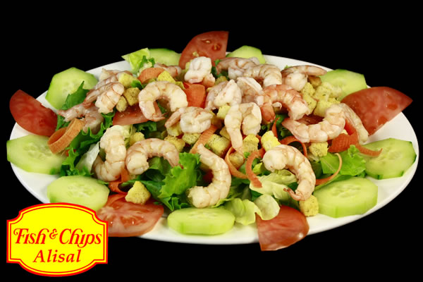 Cesar Shrimp Salad