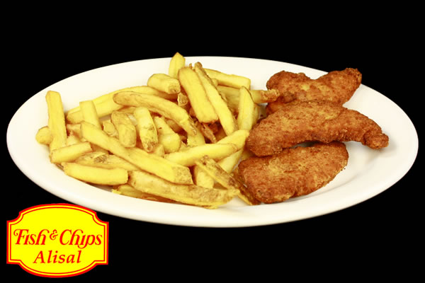 Tenderloin Chicken with Fries