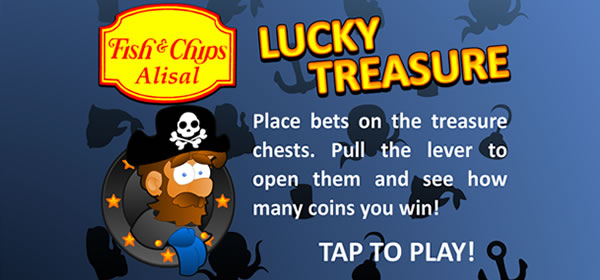Lucky Treasure Game